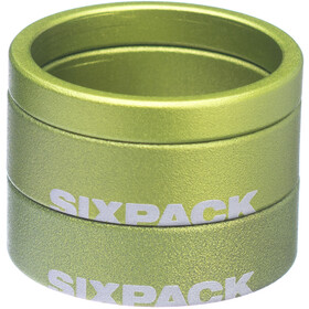 "Sixpack Menace Espaciador 1 1/8"", electric green"